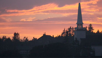 Sunset on Brier Island, Adventure activities in Nova Scotia